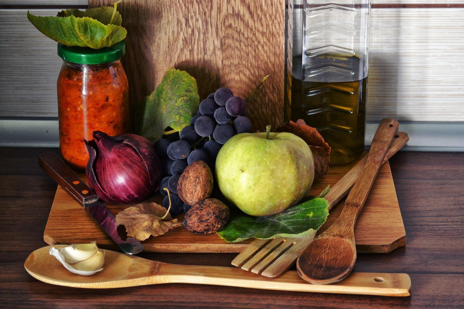 frutas y verduras, nutrientes