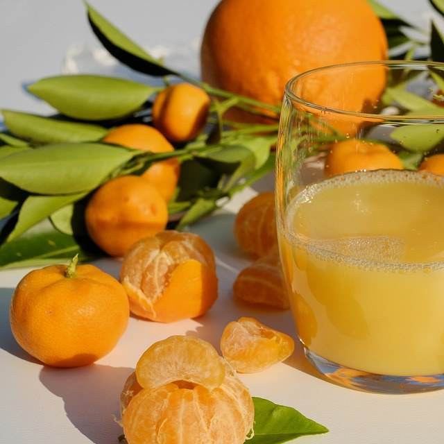 mandarina para aceite esencial