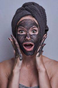 mascarilla carbón