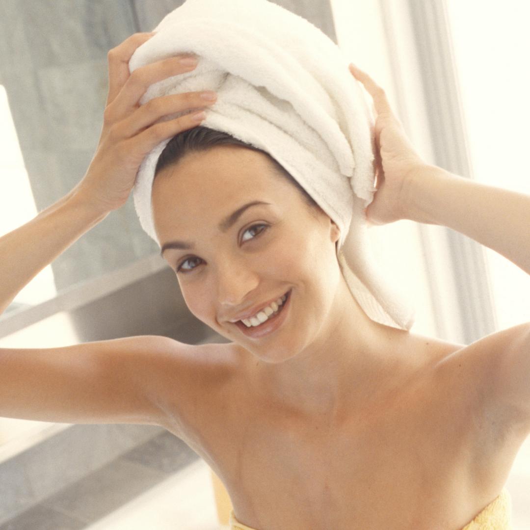 secarse el pelo